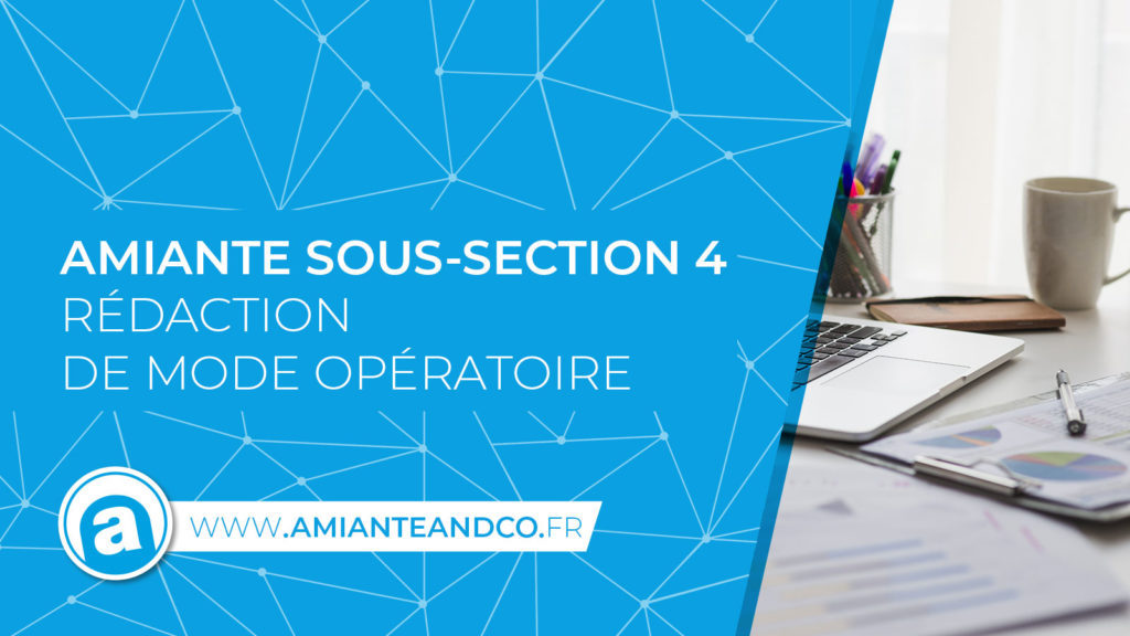 mode operatoire amiante chantier