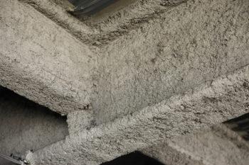 amiante isolation mur poutre calorifugeage