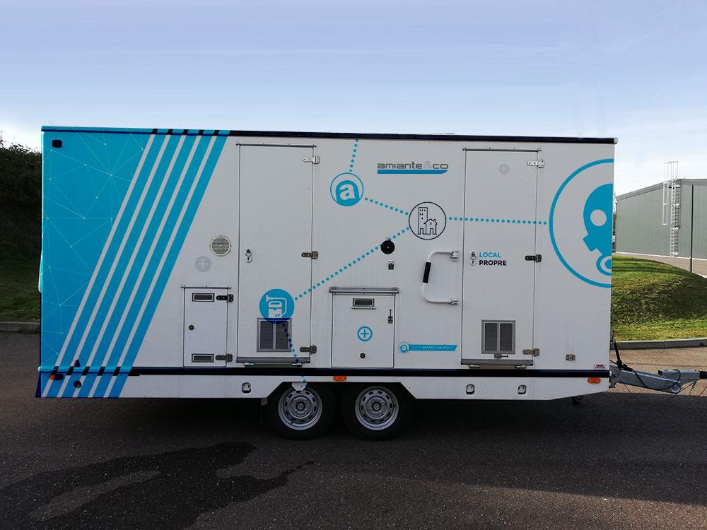 unite mobile decontamination umd roulotte amiante location