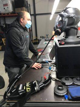 masque respiratoire amiante photo entretien annuel amiante and co lorraine france protection   sécurité desamiantage